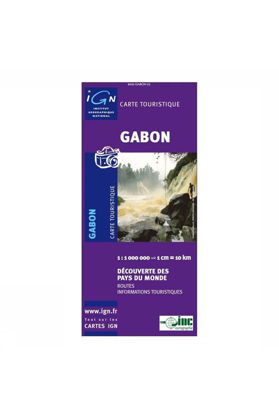 IGN Carte Gabon - 85123 2008