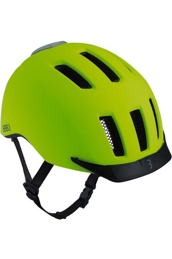 BBB Bicycle Helmet Grid yellow