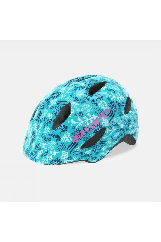 Giro Bicycle Helmet Scamp Turquoise/White