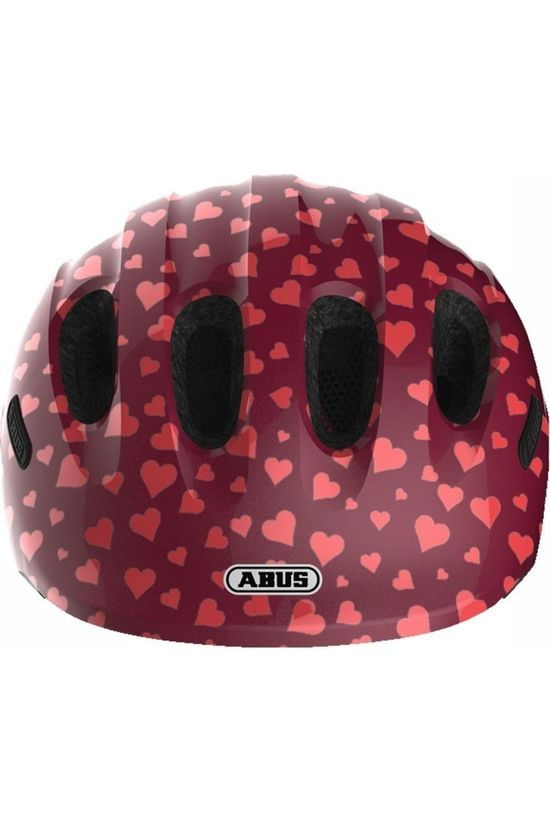 Abus Fietshelm Smiley 2.0 Donkerrood/Lichtrood
