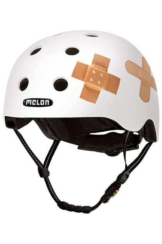 Melon Bicycle Helmet Story XXS-S White/Assorted / Mixed
