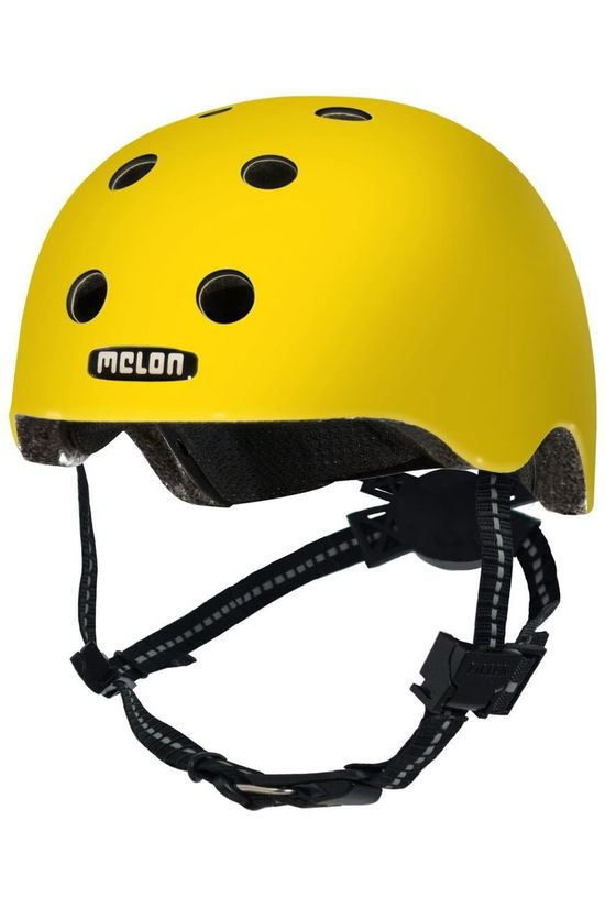 Melon Bicycle Helmet Rainbow Toddler yellow