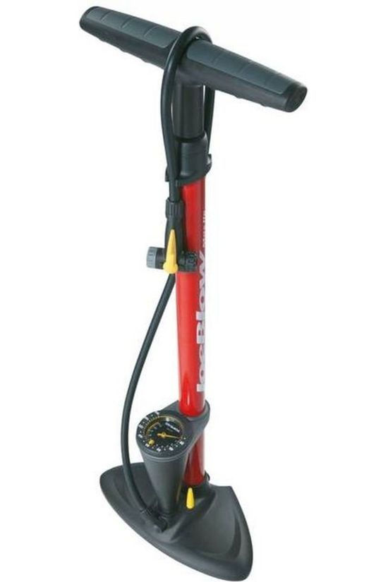 Topeak Pump Tope Joe BMax Hp mid red