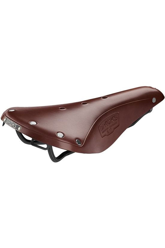 Brooks Zadel B17 - Antic Brown Donkerbruin