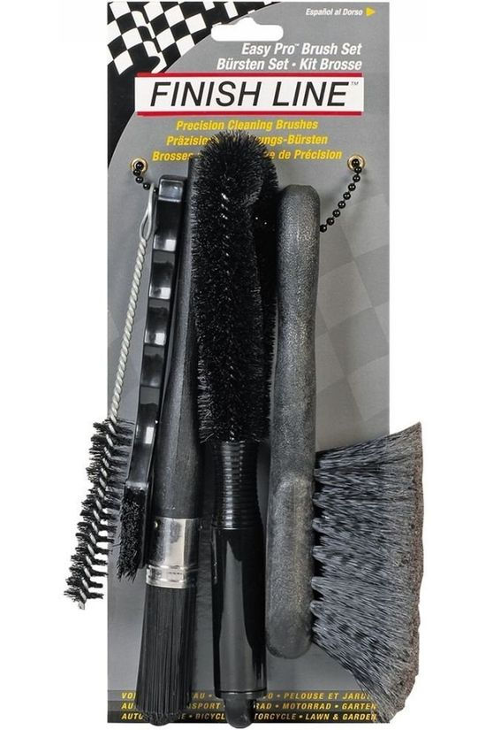 Finish Line Tool Easy Pro Brush Set Zwart