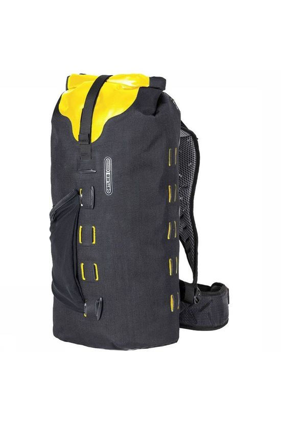 Ortlieb Bicycle Backpack Gear-Pack 25 L black/yellow