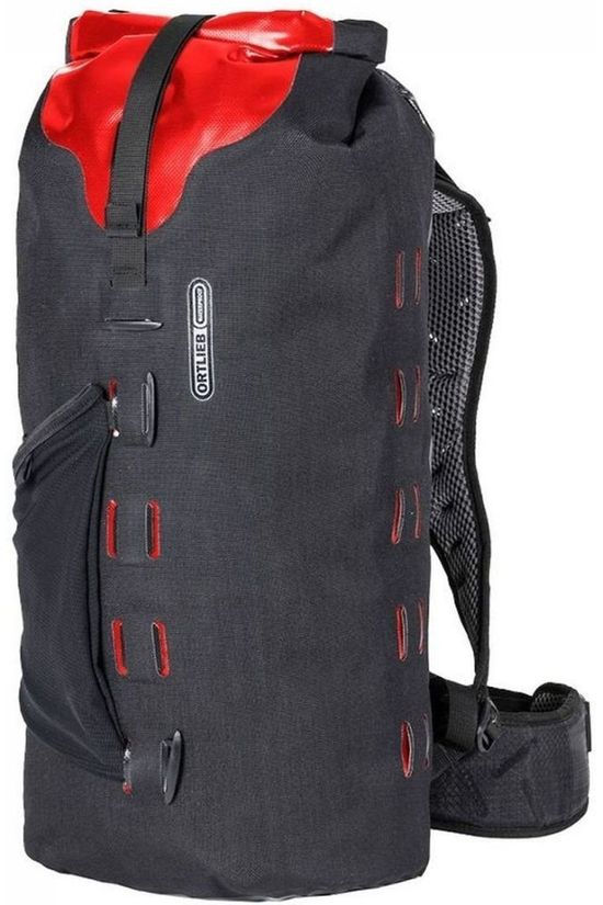 Ortlieb Bicycle Backpack Gear-Pack 25 L black/red