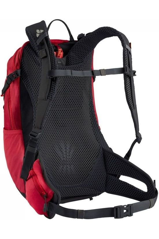 Vaude Bicycle Backpack Tremalzo 16 red/dark grey