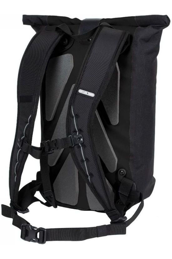 Ortlieb Bicycle Backpack Velocity Design 23L black/white
