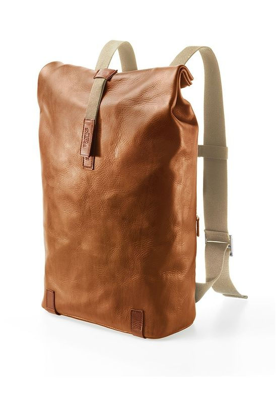 Brooks Bicycle Backpack Pickwick Hardlaeter Large (26 L) - Honey mid brown