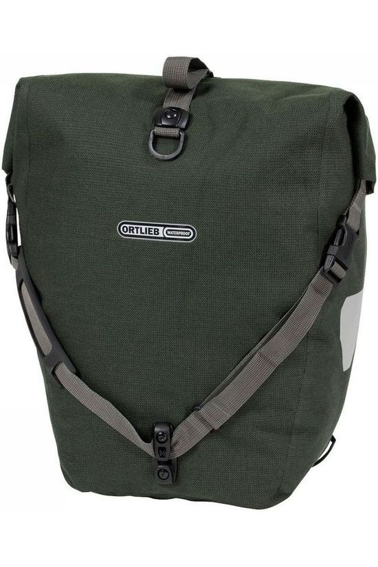 Ortlieb Bike Bag Back Back-Roller Urban Ql3.1 20 L dark green