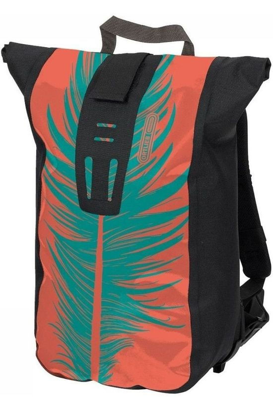 Ortlieb Bike Bag Back Velocity Design 24 L Mid Pink/Turquoise