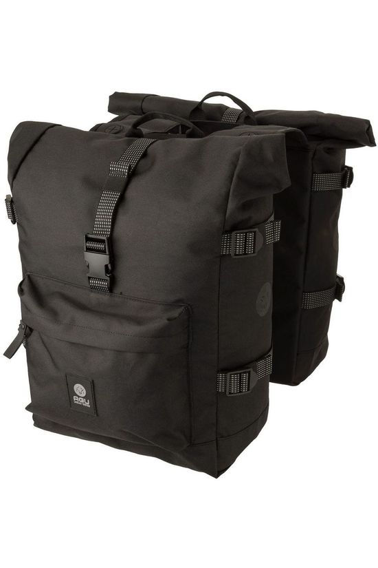 Agu Bike Bag Back Urban Trend H2O Roll-Top black