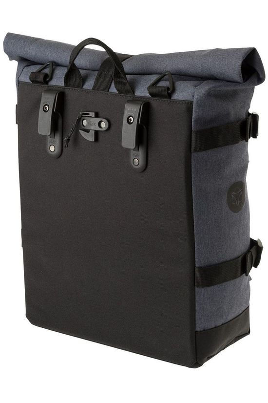 Agu Bike Bag Back Urban Trend H2O Roll-Top dark grey