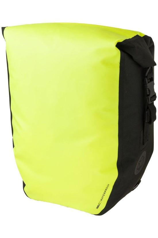 Agu Bike Bag Back Shelter Clean Enkele Fietstas Large light yellow