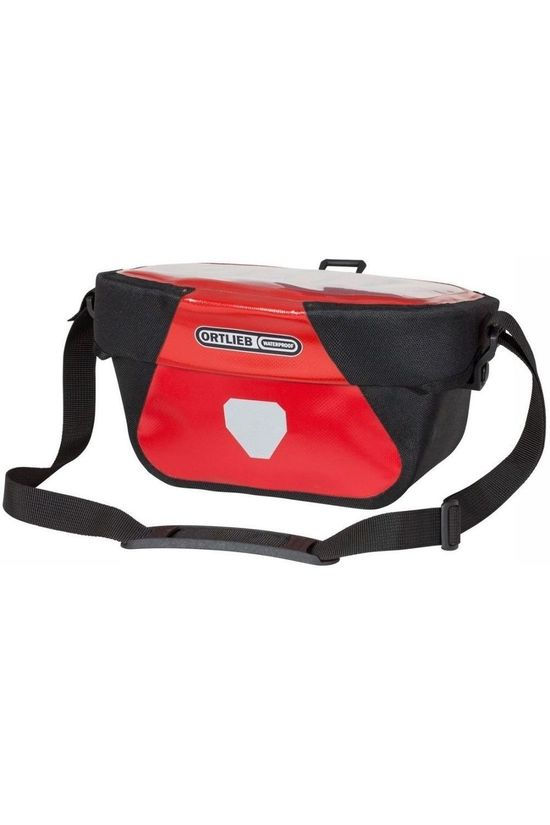 Ortlieb Stuurtas Ultimate Six Classic 5L Middenrood/Zwart