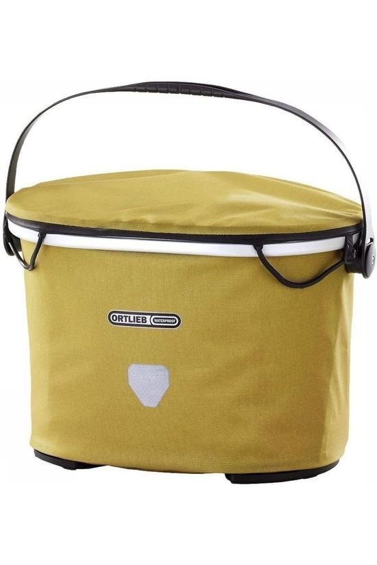 Ortlieb Handlebar Bag Up Town City 17.5 L mid yellow