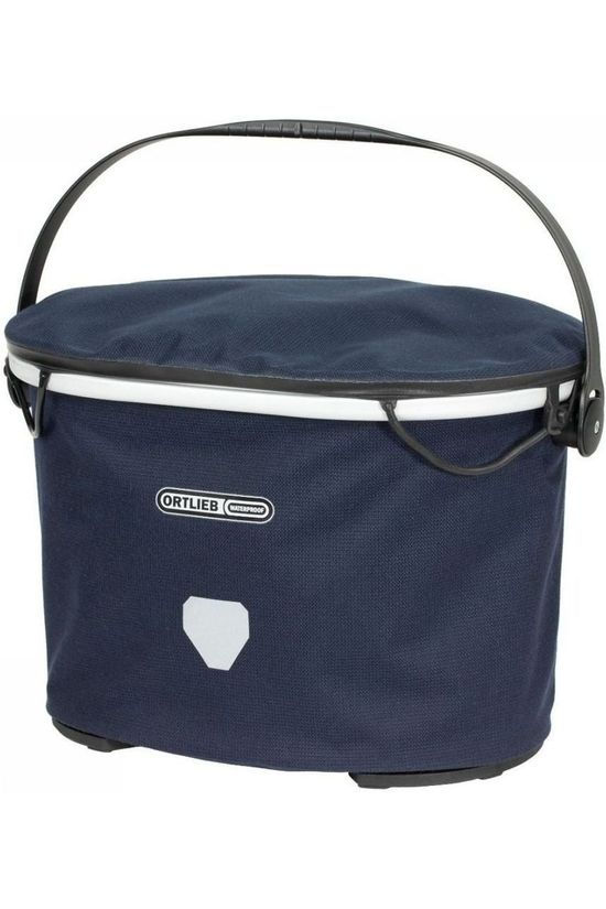 Ortlieb Handlebar Bag Up Town Urban 17.5 L dark blue