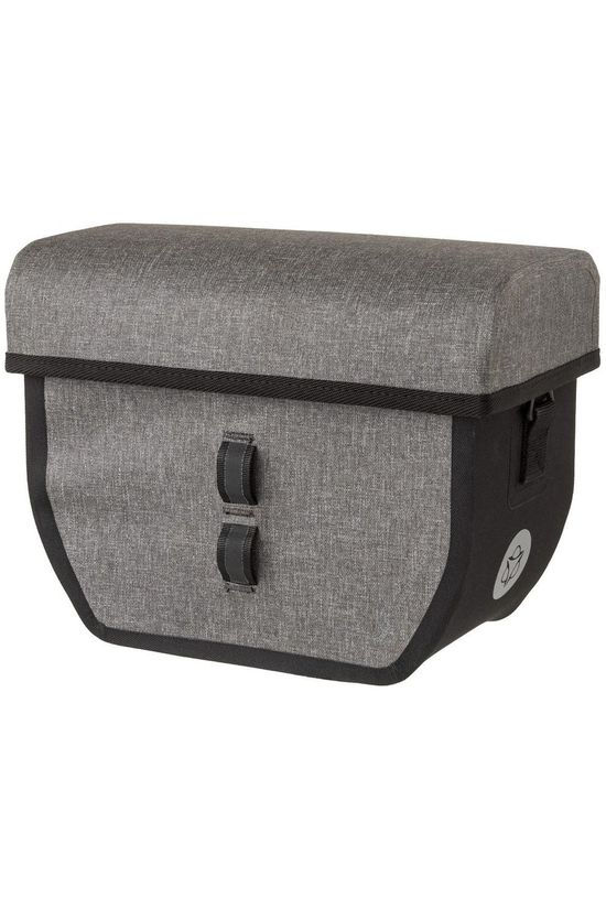 Agu Handlebar Bag Shelter Tech mid grey