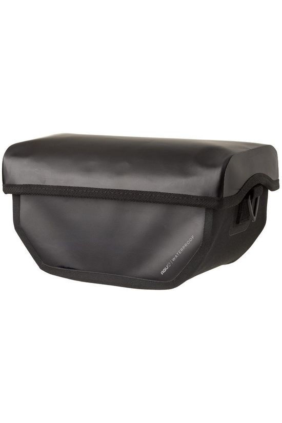 Agu Handlebar Bag Shelter Clean black