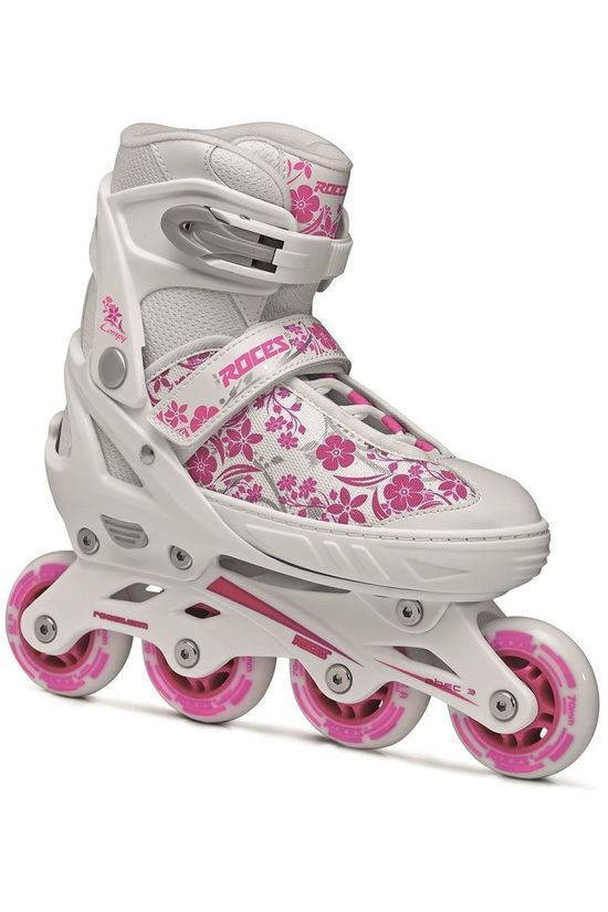 Roces Inlineskate Compy 8.0 Girl White/Violet