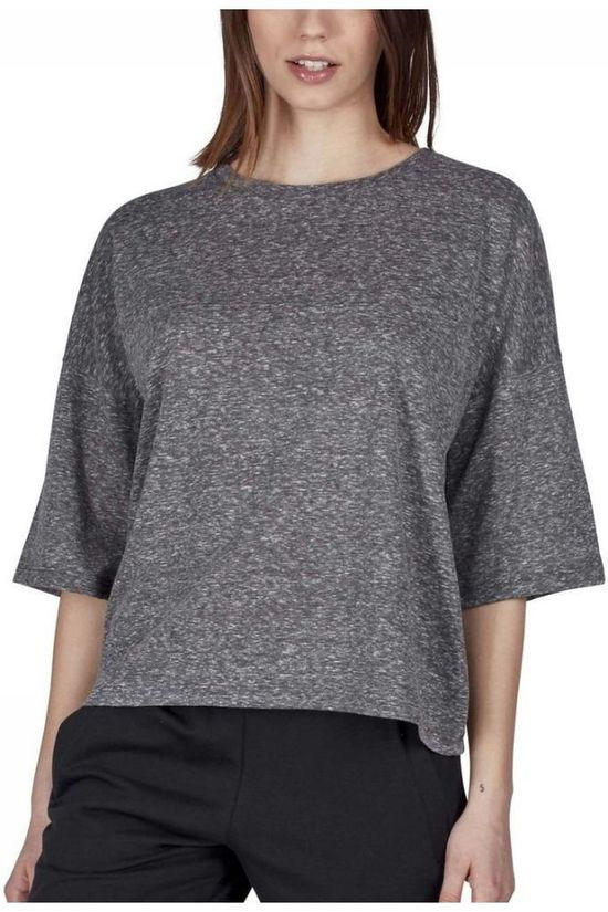 Skiny T-Shirt Skiny Loungewear Collection 3/4 Sleeve Lichtgrijs Mengeling