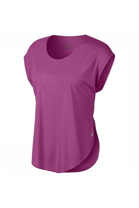 Nike T-Shirt City Sleek Top SS Rose Moyen