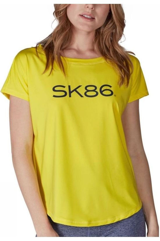 Skiny T-Shirt Ladies SL Jaune