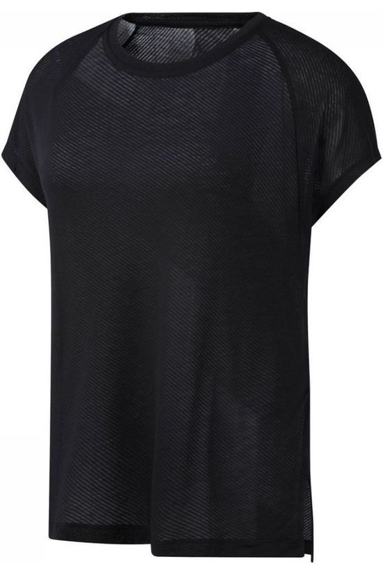 Reebok T-Shirt One Series Burnout Noir