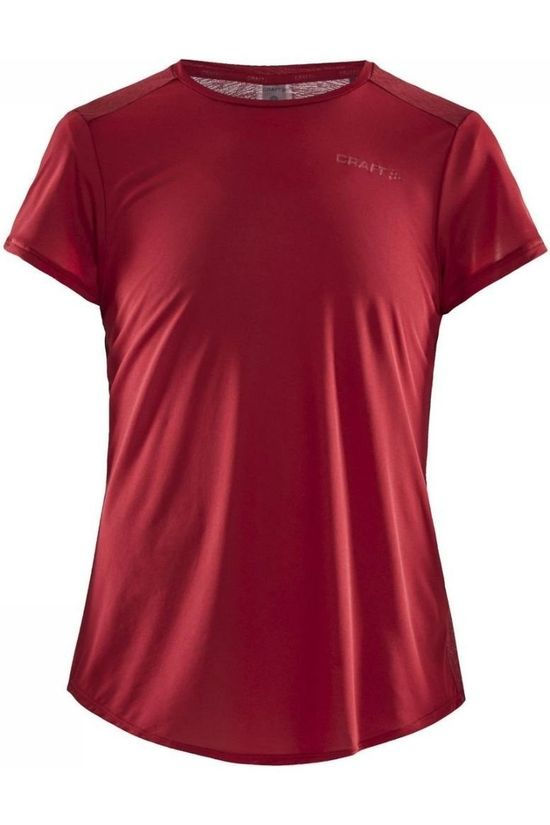 Craft T-Shirt Charge SS dark red