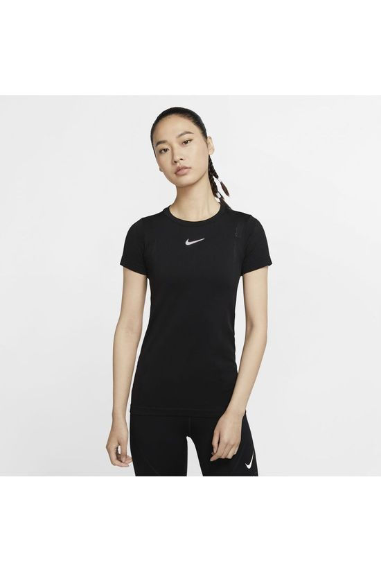 Nike T-Shirt W Infinite Top SS Noir