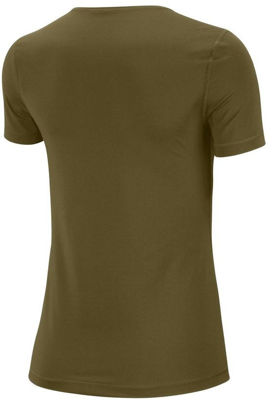 Nike T-Shirt W Dry Layer SS Top dark khaki