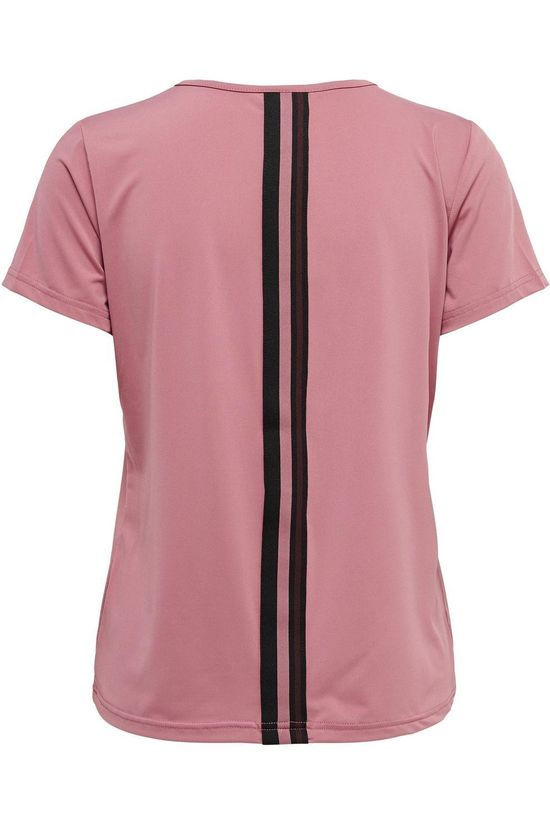 Only Play T-Shirt Bako V-Neck Traing mid pink