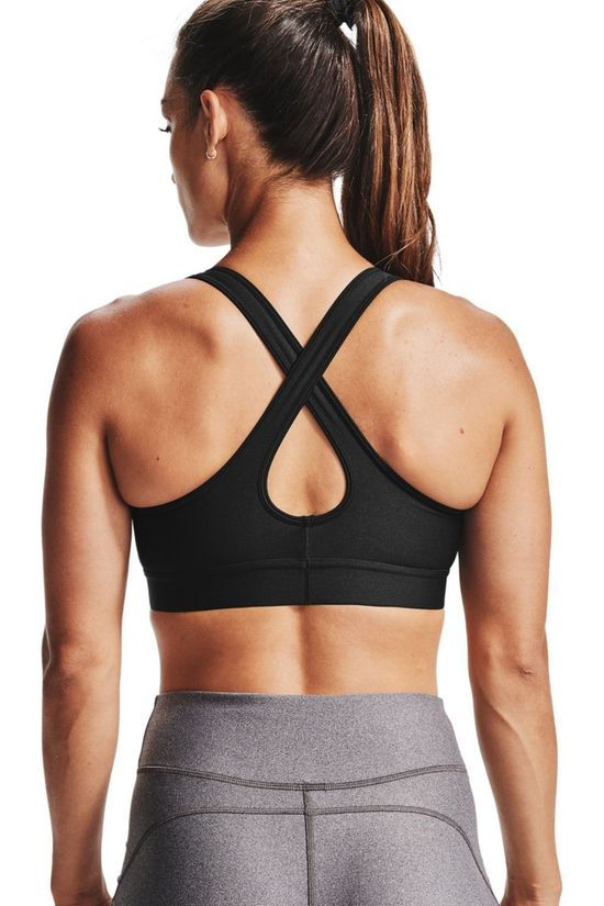 Under Armour Sports Bra Armour Mid Crossback black