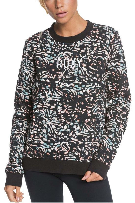 Roxy Pullover Thousand Suns black/light pink