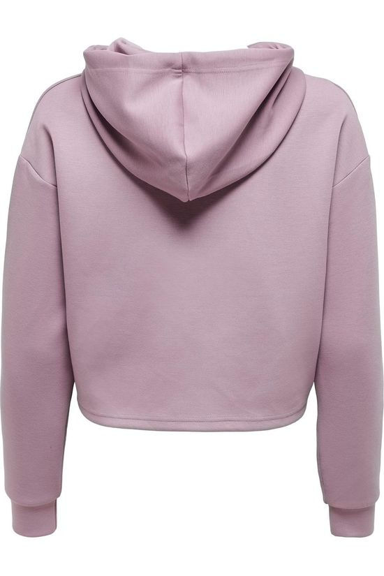 Only Play Pull Lounge Short Ls Hood Rose Foncé