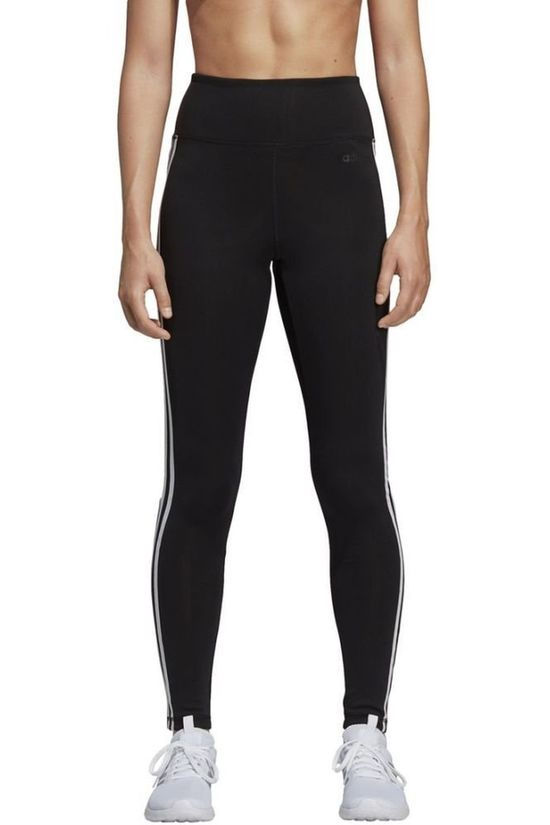 Adidas Tights Design 2 Move 3-Stripes High-Rise Long black