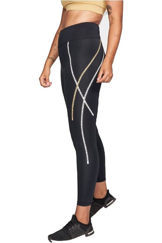Röhnisch Collants De Sport Uplift Stripe Noir