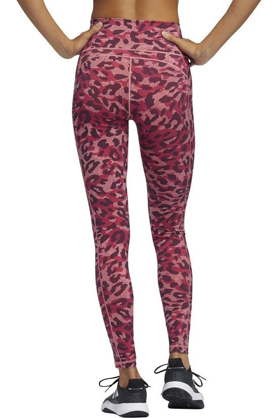 Adidas Collants De Sport Bt 2.0 Aop Lt Rose Moyen/Assorti / Mixte