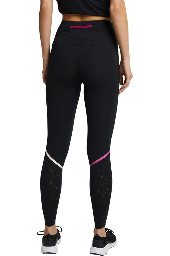 Esprit Legging Per Tight Lc Zwart/Middenroze