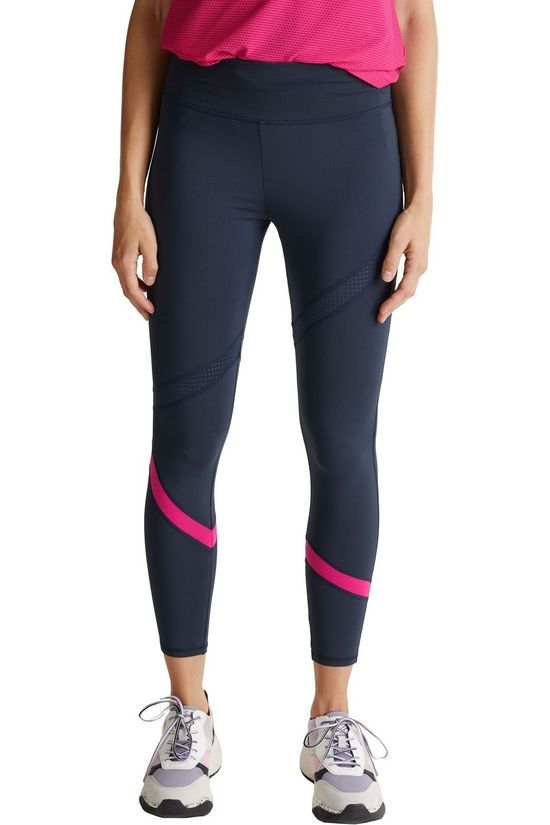 Esprit Tights Edry 3/4 Pink Mesh dark blue