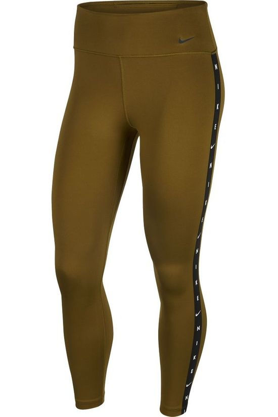 Nike Tights W Nike One Tgt 7/8 Grx Taping dark khaki
