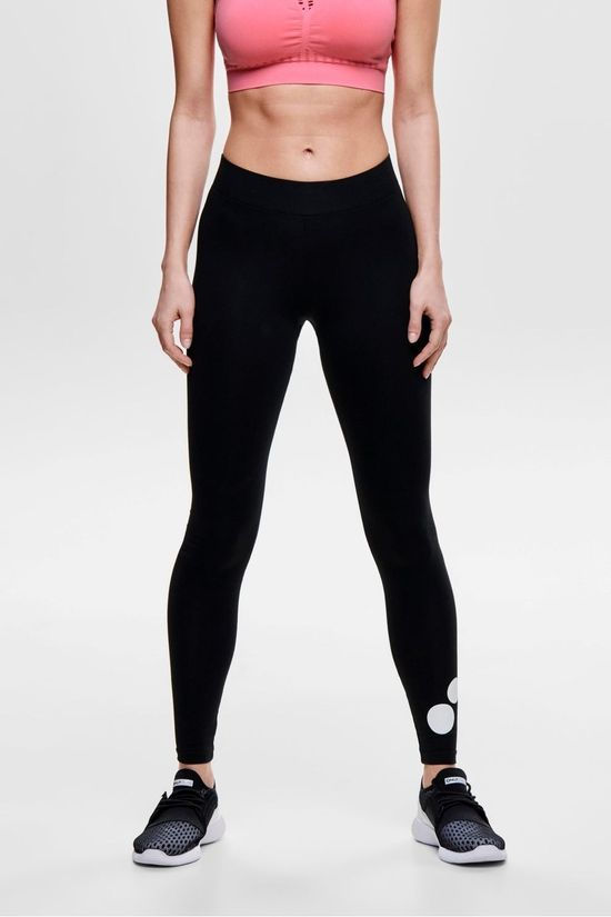 Only Play Tights Psys Logo Jersey Tights black
