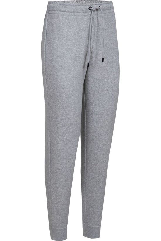 Nike Pantalon De Survetement W NSW Essential Tight Fleece Gris Clair Mélange