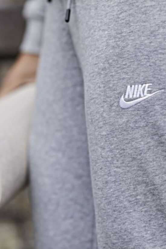 Nike Sweat Pants W NSW Essential Tight Fleece Light Grey Marle