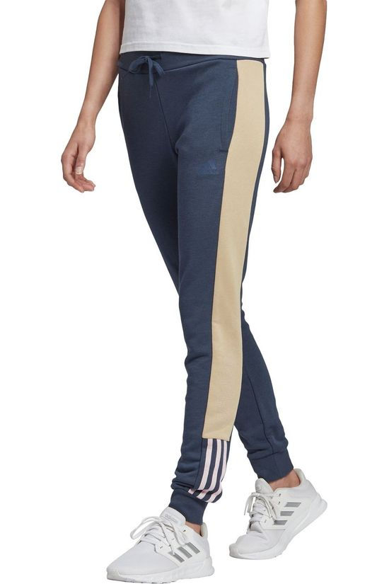 Adidas Sweat Pants W Lin T C Pt Dark Blue/Sand Brown