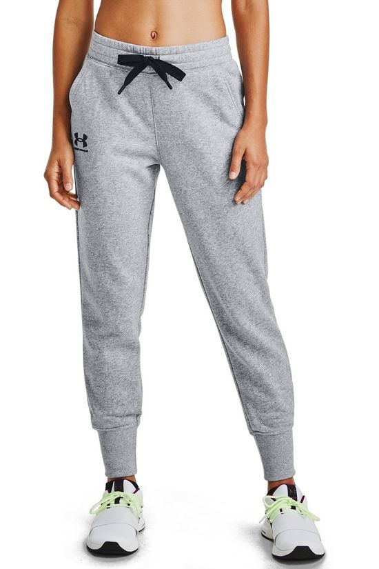 Under Armour Sweat Pants Rival Fleece Joggers Dark Grey Marle