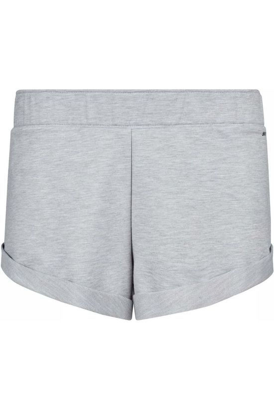 Skiny Short Sweat Gris Clair Mélange