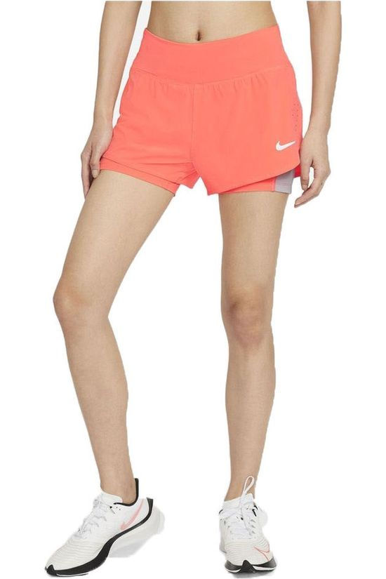 Nike Short W Nk Eclipse Short 3In Rose Moyen
