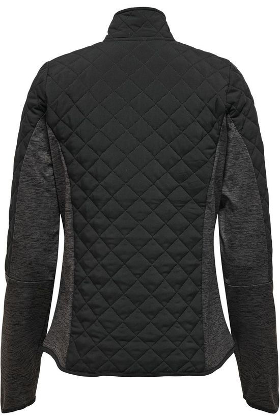 Only Play Windstopper Onpfiori Ls Quilted Short Jck Zwart